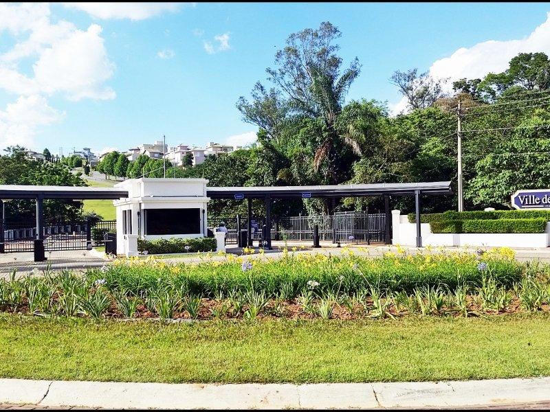 Lote para venda. Com 595 m² em Condomínio de Luxo - Ville de France - Itatiba/SP